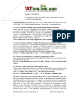 Digest Case Laws May 2011