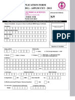 Aipgm Form 2013