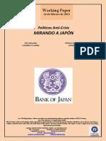 Políticas Anti-Crisis. MIRANDO A JAPÓN (Es) Anti-crisis policy. LOOKING TO JAPAN (Es) Krisiaren aurkako politikak. JAPOIRA BEGIRA (Es)
