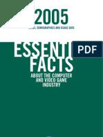 ESA Essential Facts 2005