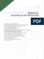 M 5_ Materiale Instalatii