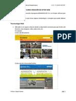 CURSO CREACIÓN DE SITIOS WEB - 4TO BIM 4TO SEC