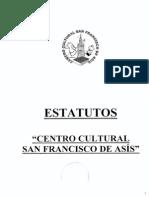 Estatutos y Otros Centro Cultural