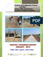 Monthly Progress Report January-2013