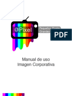 Manual de Diseño Corporativo Pixel