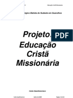 Carla Geanfrancsico - Projeto de Educacao Crista Missionaria