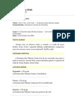4 Trimestre de 2004 - Lições Bíblicas CPAD