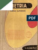 Geometria Curso Superior G. M. Bruño ocr