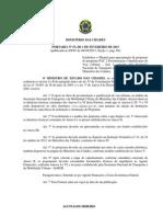 Portaria 53 Ministério das Cidades PAC 2 Pavimentação // Fevereiro de 2013