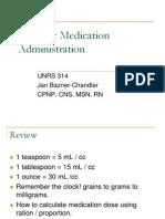 Pediatric Pharmacology.