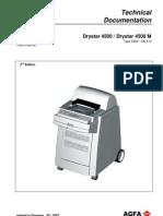 AGFA Drystar 4500 Film Printer Service Manual - Revision 2