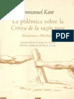 58520636-Immanuel-Kant-«La-polemica-sobre-la-Critica-de-la-razon-pura-»