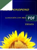 Libro Ho Oponopono (La Solucion a Tus Problemas) Por Tavata
