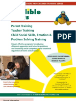 Parent Training_indredible Years