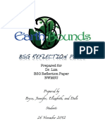 Earth Bounds Reflection Paper