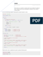 Cpp Pointer to Class