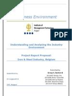 Iron and Steel Industry in Belgium
