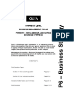 16013857 CIMA P6 Management Accounting Business Strategy Solved Past Papers (1)