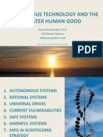 Autonomous Technology and the Greater Human Good