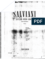 OBOE METODO SALVIANI Estudos Complementares VOLUME 2 Oboe Method