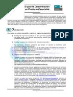 Guia para la determinación de un producto exportable-2012