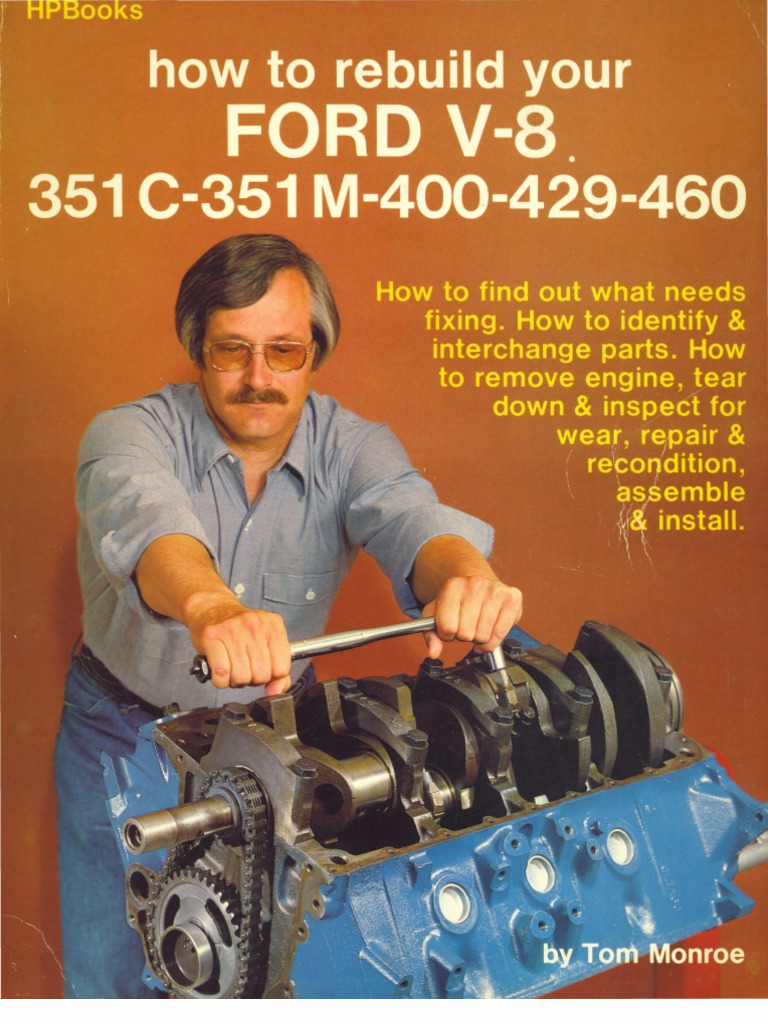 How To Rebuild Your Ford V8 Ignition System Cylinder Engine Lincoln Sa 200 Idler Solenoid