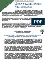 Educacion Ecuador