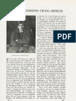 Edward Gordon Craig - DKD 1905