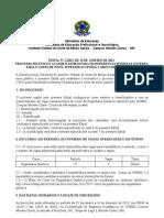 EDITAL DE TRANSFERÊNCIA CURSO SUPERIOR