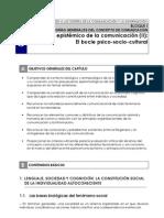 TIC 3. El marco epistémico de la comunicación II