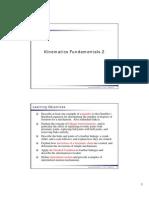 03 Kinematics Fundamentals 2 Sp13