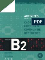 Activités pour le CECR B2