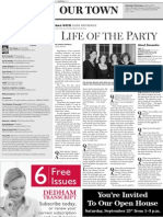 Dedham Transcript Sept. 16, 2010 Life of the party