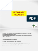 E-Historia de Usuario y Estimacion I