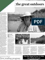 Dedham Transcript July 11, 2011 Exploring the great outdoors