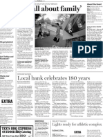 Dedham Transcript May 12, 2011 'It's all about family'