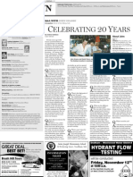 Dedham Transcript Nov. 11, 2010 Celebrating 20 years