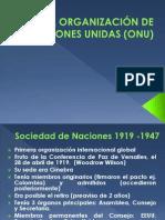 LA ORGANIZACIÓN DE NACIONES UNIDAS (ONU)