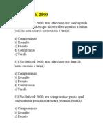 OUTLOOK 2000-EXERCÍCIOS