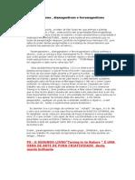 Paramagnetismo, Diamagnetismo e Ferromagnetismo