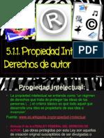 5.1 Propiedad Intelectual-Derechos de Autor