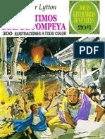 025. Los Ultimos Dias de Pompeya ~ E. Bulwer Lytton