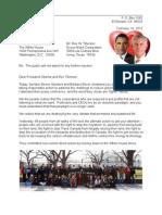 Letter to Rex & Barack 13-02-14 WH