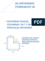 Casas Antisismos Columna Dual t y Cruz 4aaa