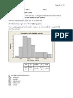 statistics test 2