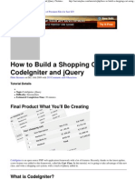 How to Build a Shopping Cart Using CodeIgniter and jQuery _ Nettuts+