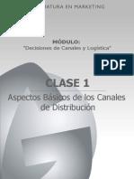 Aspectos básicos de canales de distribución