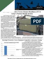 Envelop Covers Newsletter Spring 2013