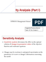MS Lecture021 Sensitive Analysis1 Sem2 2011
