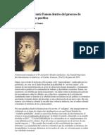 El aporte de Frantz Fanon dentro del proceso de liberación de los pueblos